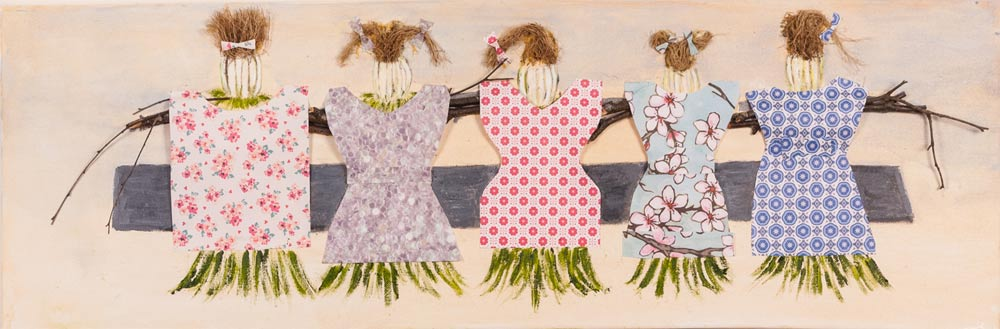 Grass Dolls Painting